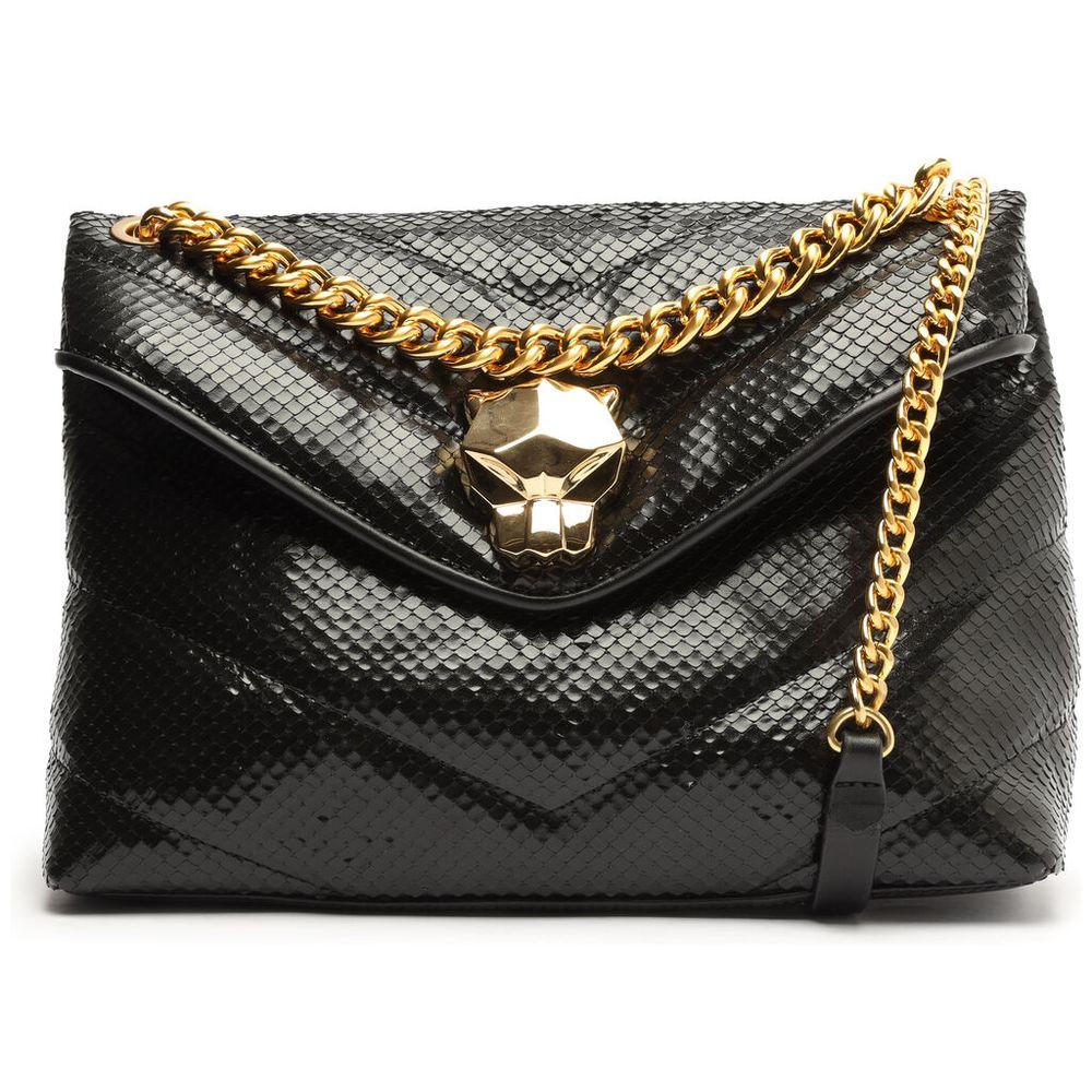 bolsa-satchel-mini-snake-light-madrid-black-schutz-1
