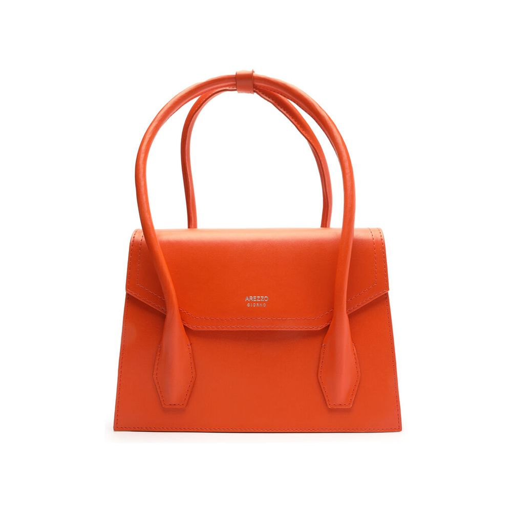bolsa-satchel-sintetica-laranja-arezzo-1